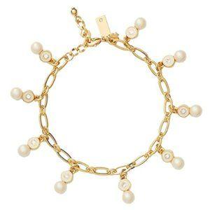 kate spade   Pearly Delight Charm Bracelet